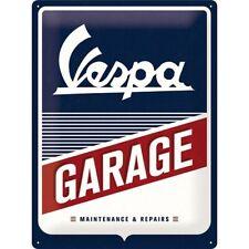 Vespa Roller Garage Werkstatt Nostalgie Blechschild 40 cm NEU  shield