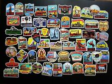 Vintage Country, States, & Other Vacation Spots Around The World Decal Stickers