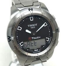 TISSOT T047420A T-TOUCH2  Wristwatch SS Silver x Black