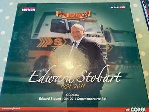 Corgi 1/50 Scale Diecast Cc-99203 Edward stobart 1954-2011 Commemorative Set
