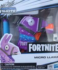 *NERF MINI TOY GUN* Fortnite *MICRO LLAMA* Elite Dart Firing Blaster