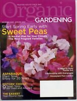 Organic Gardening, December 2006 through October 2007  LOT OF SIX MAGAZINES