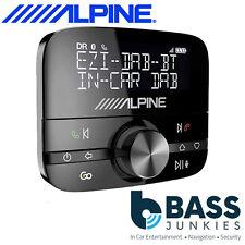 Alpine Universale da Auto Dab + Radio A2DP lo streaming & Bluetooth Vivavoce per Dacia
