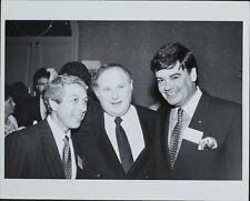 Al Waxman, Charles Ferraro, Ruy Paes-Broga, Ronald Lauder ORIGINAL PHOTO