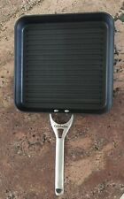 """Calphalon Griddle Ribbed Frying Pan Nonstick 11"""" Square Hard-Anodized Grill"""