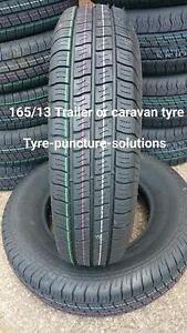 2 X 165 80 X 13 caravan tyre,  trailer tyre, horsebox tyres 94/96N 8ply