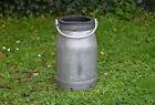 Vintage old aluminium milk churn milkchurn milking pot 10L churn FREE POSTAGE