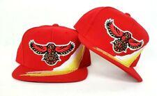 Mitchell & Ness Red Atlanta Hawks snapback hat