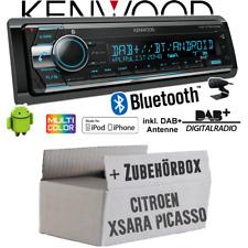 Citroen Xsara Picasso autoradio radio Kenwood DAB + CD Bluetooth USB kit de integracion