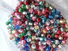 300 o 3000 Bolas cuentas plastico colores (8mm) sintetica bolitas pulsera collar