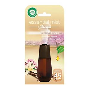 Airwick Air Freshener Essential Mist Aroma Refill Comforting Cherry & Vanilla 20