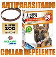 COLLAR ANTIPARASITARIO NATURAL PERRO Pulgas Garrapatas Repelente PERROS
