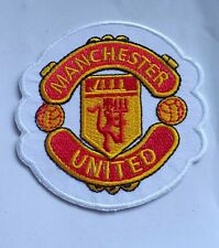 Man U Embroidered iron on Patch F1