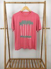 BVTG Souvenir Novelty Naples Florida Coconut Tree Thin Short Sleeve T-Shirt Sz M