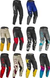 Fly Racing Kinetic Pants - MX Motocross Dirt Bike Off-Road ATV MTB Mens Gear