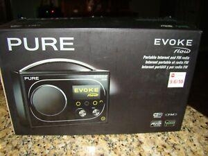 RARE & HTF Pure Evoke Flow portable internet & FM radio NEW IN BOX!
