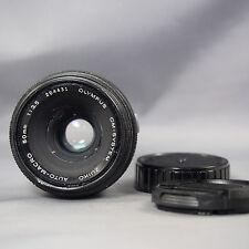OLYMPUS ZUIKO 50mm f3.5 macro lens for OLYMPUS OM mount