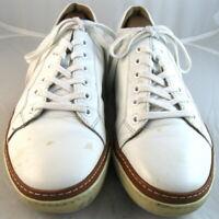 """Allen Edmonds """"Porter Derby"""" Sneakers  9.5 D  White  (101)"""