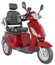 3 Wheeled RED 800W 60V100AH Battery ELECTRIC MOBILITY SCOOTER - Green Power
