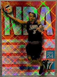 1999 Upper Deck HoloGrFx Allen Iverson NBA 24-7 Insert #2
