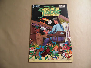 Jon Sable Freelance #33 (First Comics 1986) Free Domestic Shipping