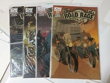 Alternative comic lot Road Rage 1-4  NM Bagged and Boarded