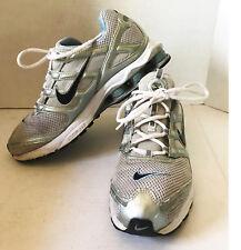 c25f7d107af Nike Shox Zoom Air Running Shoes WMs Sz 10 - grey   silver   sky blue