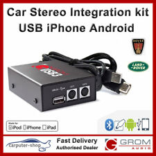 GROM Audio iPhone USB MP3 Android connection kit ROVER 75 MG ZT RANGEROVER HSE