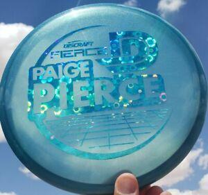 New Discraft Tour Series FIERCE Paige Pierce 172g Metallic Blue Flowers