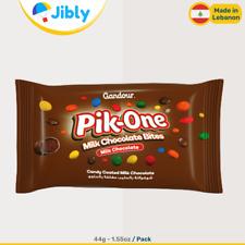 Ÿ‡Ÿ‡ Lebanese Gandour Pik One Chocolate Filled Candy | M&Ms Sweets Alternative