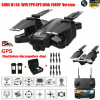 Drone SHRC H1 5G Selfi WIFI FPV GPS With 1080P HD Camera Foldable RC Quadcopter