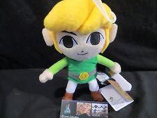 "Little Buddy Link Phantom Hourglass Legend of Zelda 7.5"" plush toy"