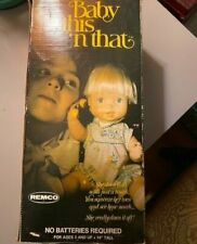 New listing Vintage Baby This 'n That Doll Blonde 1976 by Remco w/ Original Box & Manual