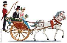 Artist Wilhelm Schweizer German Standing Pewter Zinn Hochzeitszug Bride & Groom