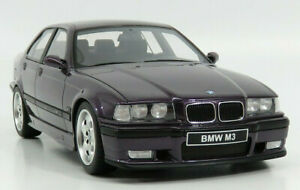 RARE 1/18 OTTO OTTOMOBILE 1998 BMW M3 E36 VIOLET PURPLE 3 SERIES OT307 NEW