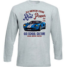 VINTAGE CAR AMERICAN FORD GT40 - NEW COTTON T-SHIRT