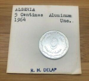 1964 5 CENTIMES ALGERIA