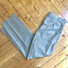 Pantalon homme BALMAIN gris clair Taille 54 - Coupe droite - Vintage original