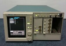 Tektronix 11403 Color Digitizing Oscilloscope With 11a72 Amp 11a34 Modules Amplifier
