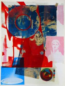 Robert RAUSCHENBERG Quarry Local One Original 1968 Lithograph
