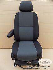 Seat VW Crafter passenger captain seat adjustments armrest AUSTIN pumped