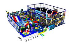 5,000 sqft Turnkey Trampoline Park Dodgeball Soft Play Playground Gym We Finance