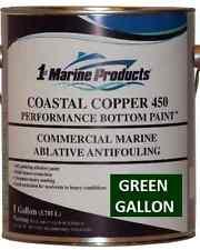 Coastal Copper 450 Multi-Season Ablative Antifouling Bottom Paint Green Gallon