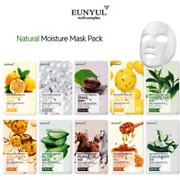 [Eunyul] UNISEX Ultra Mask Sheet Pack 10 Kinds Various Pack Korean Cosmetics