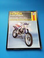 Haynes 2183 Honda XL600R XR600R Owner's Workshop Manual 589 591 2183 1983 - 2000