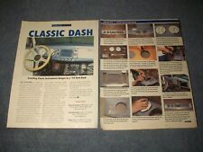 How-To Tech Info Article Installing Classic Instruments Gauges in a 1939 Ford