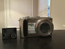 Panasonic LUMIX DMC TZ 50 9MP Digital Camera 10X Wide Angle Mega Optical Zoom