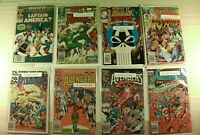 Lot of 8 Marvel Comics What if ... and The Avengers 1985 - 1993 (NM-)