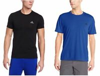 Adidas Men's Poly Climalite Active Performance Athletic Tee Shirt T-Shirt
