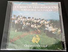 CRISTOBAL SANTIAGO Y LA FAMILIA DEL CUATRO PUERTORRIQUEÑO - AIRES DE NAVIDAD -CD